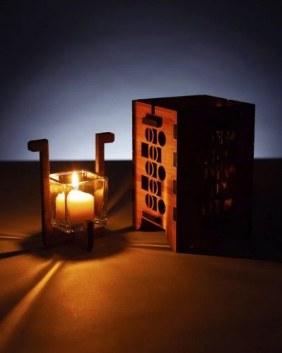 Candle Lit: Imagery for OG Creations to represent look and feel for candle and votive holder when lit.