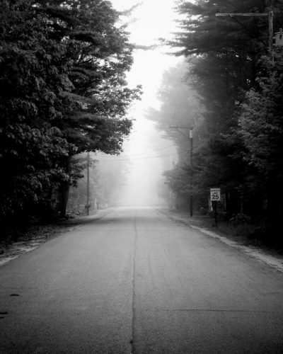 Misty Road: One of my personal favourites and one that I have hanging in my house. A road at dawn in NH.