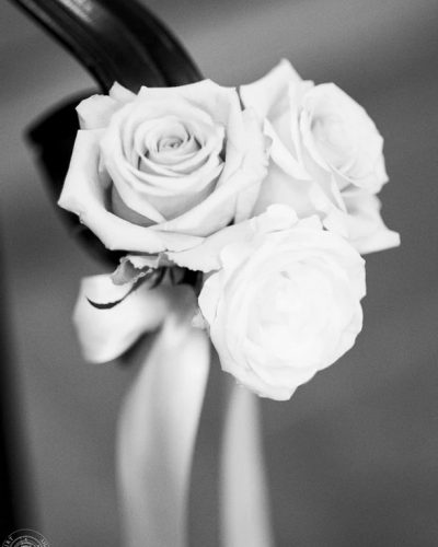 Rose Accent: Beautiful little detail from a wedding covered.